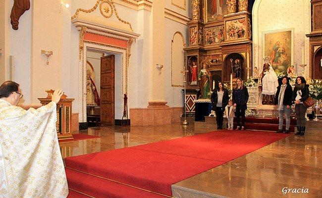 Altura celebró la Virgen de la Candelaria