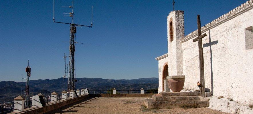 Roban los focos de las ermitas de Castellnovo
