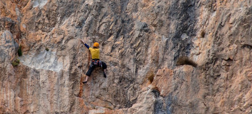 Jérica estrena una Guía de escalada deportiva