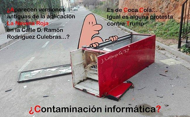 ¿Contaminación informática?