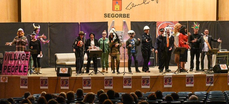La Liensa llevó las Murgas al Auditorio de Segorbe