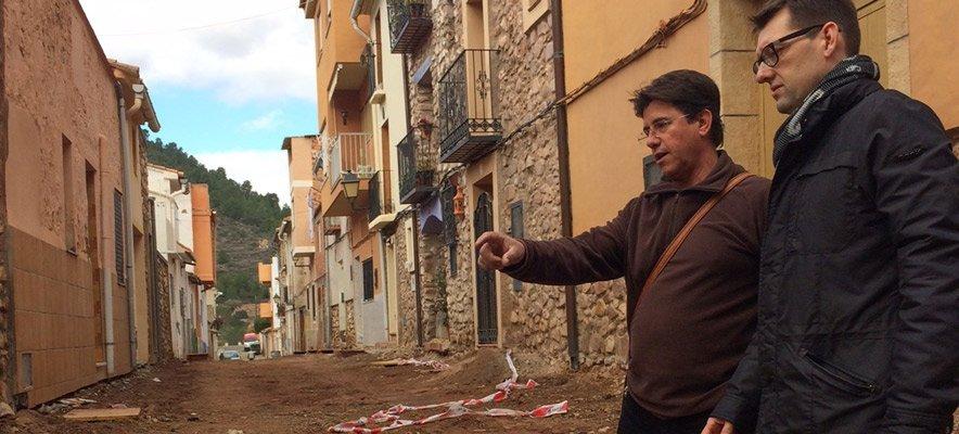 Diputación subvenciona la pavimentación de Azuébar