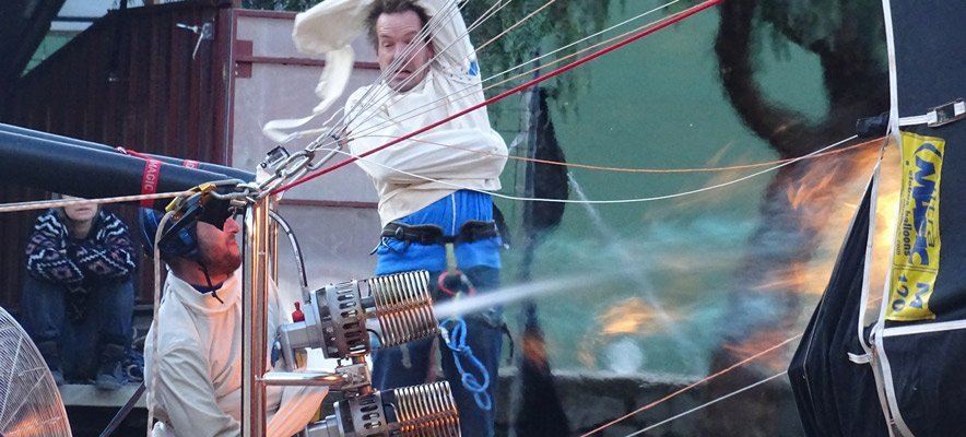 Cirque Inextremiste regresa a Almedíjar