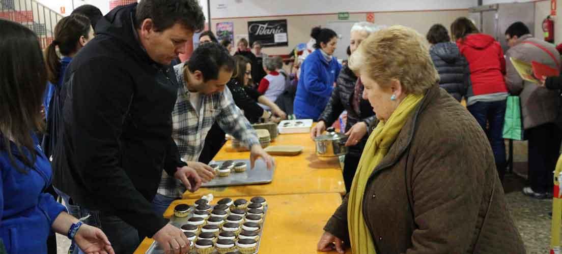Santa Águeda entre olla, inauguraciones, toros y pasteles