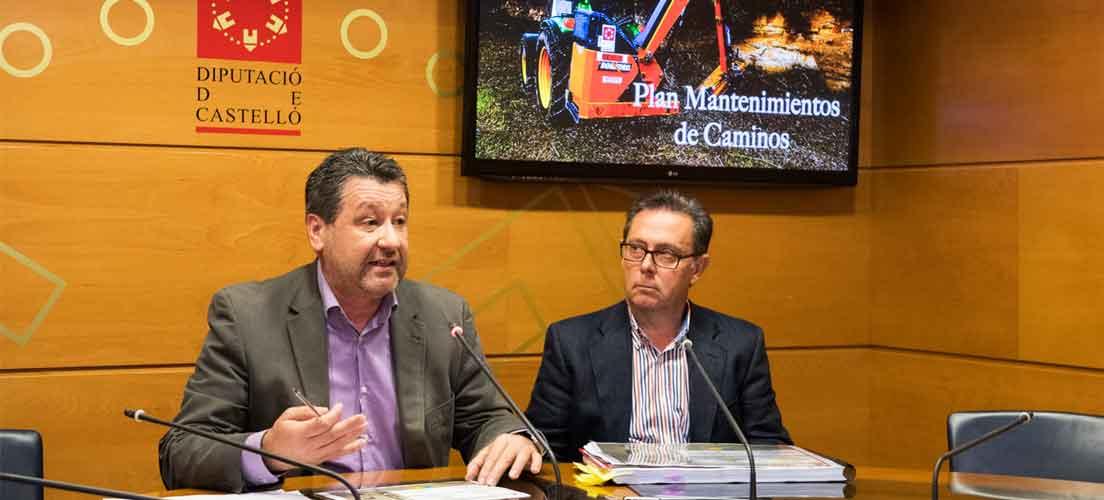 Diputación invierte 750.000 euros en el arreglo de caminos