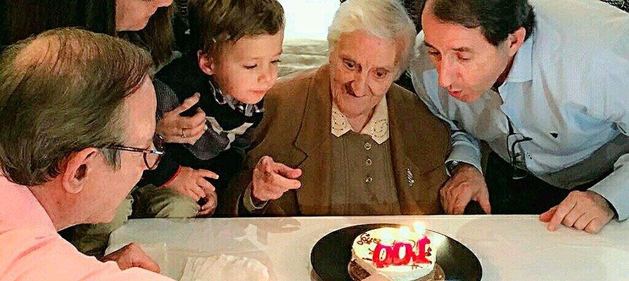 La segorbina Elvira Ibáñez cumple 100 años