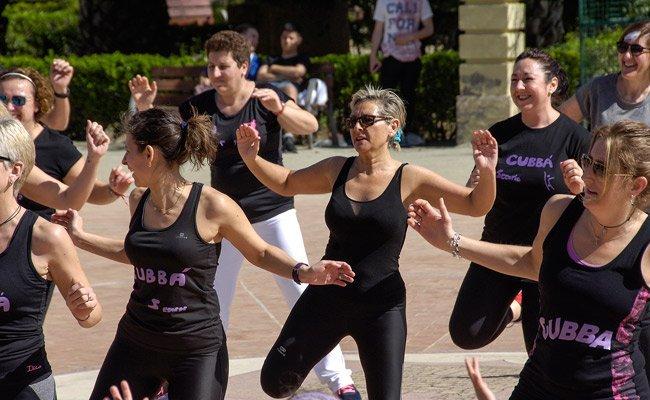 El soleado día acontecido ayer favoreció el exito de la master class de  Cubbá celebrada ayer en el Jardín Bot