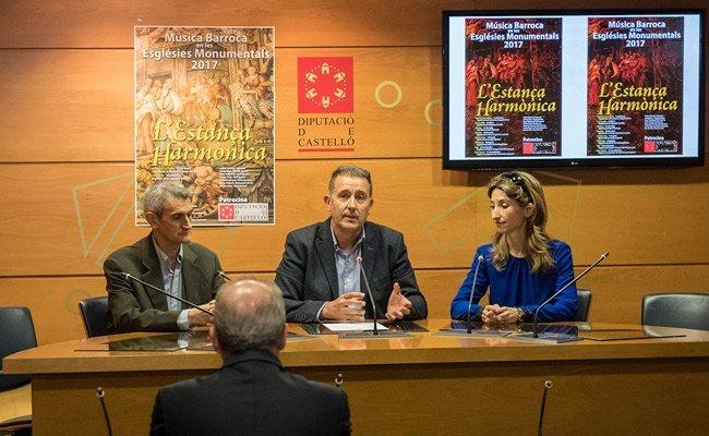 Navajas entra en el ciclo de música barroca de Diputación