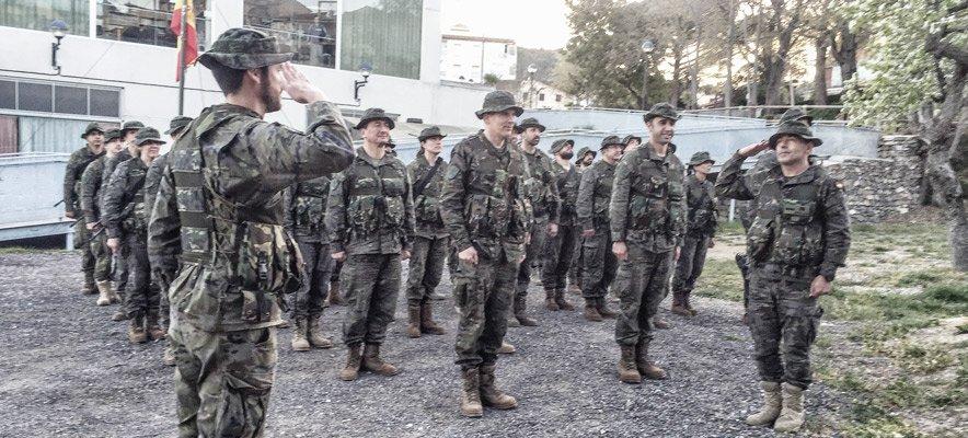 50 Militares hacen prácticas en Viver