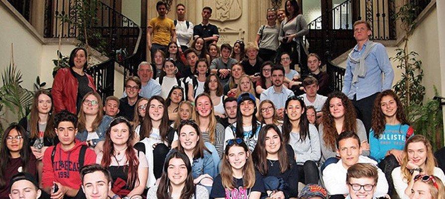 Estudiantes belgas y daneses visitan Segorbe