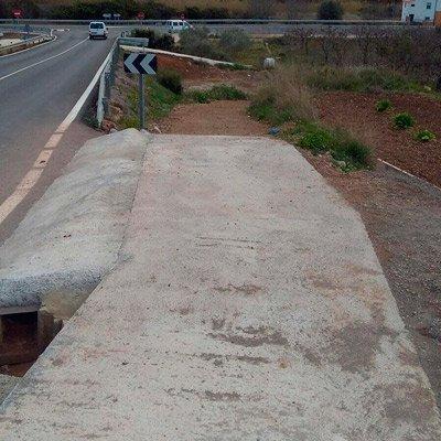 Denuncian la peligrosidad de la senda peatonal a Peñalba