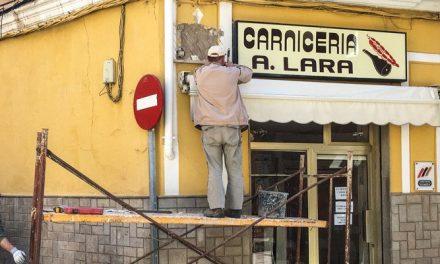 Cambian el rotulo de la calle Los Aladreros