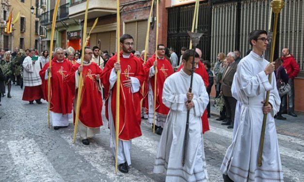 Segorbe celebra el Domingo de Ramos