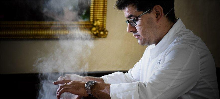 El chef Javier Simón obtiene el premio Gastrocope