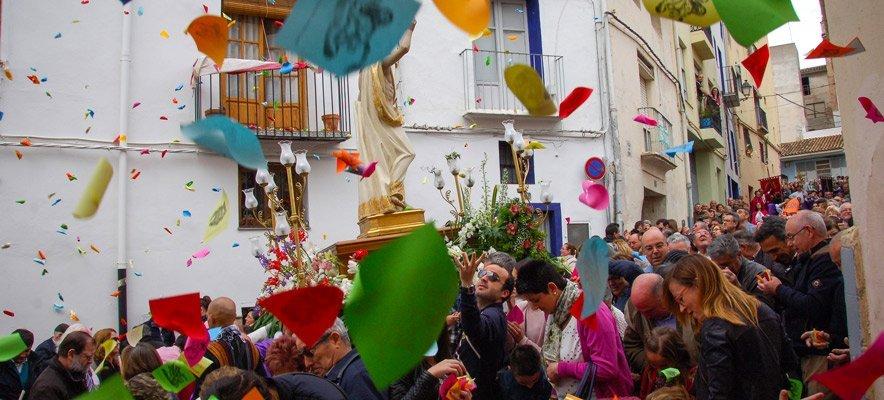 Segorbe celebra la Mañanica de Pascua