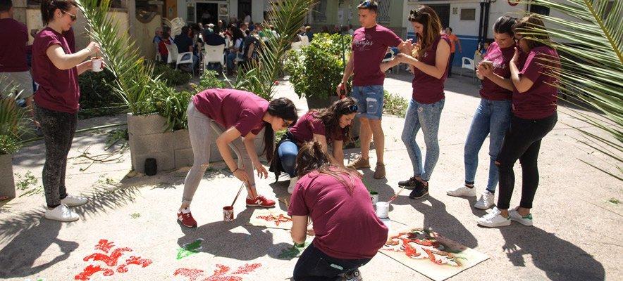 Navajas celebra el Encuentro con el Huerto de Pascua