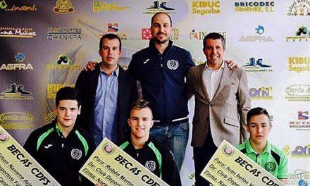 CDFS concede becas deportivas patrocinadas por AGFRA