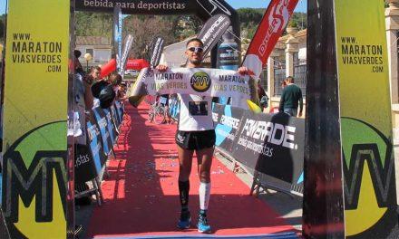 Hugo Figueras es tricampeón de la Maratón Vías Verdes Ojos Negros