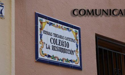 Recogen firmas contra el cierre del colegio La Resurrección