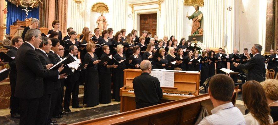Fundación Bancaja llevó al Orfeó Valenciá a la Catedral de Segorbe