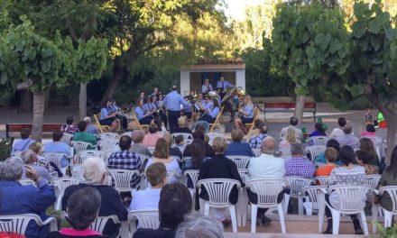 Concierto de la Sociedad Musical en Geldo