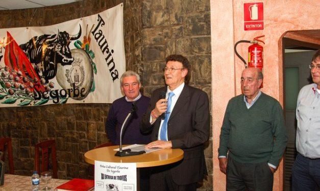 La Peña Taurina de Segorbe obtiene un premio de la RFTE