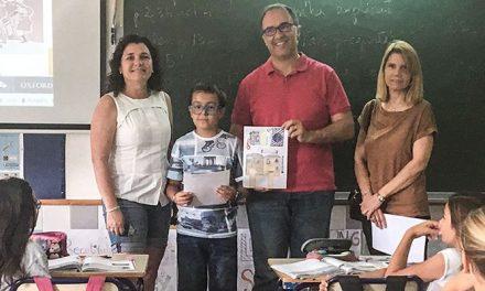 Simón Bravo Sandalinas ilustra la agenda escolar de 2018