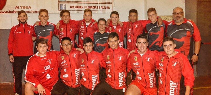 Club Balonmano de Altura consigue la Copa Federación