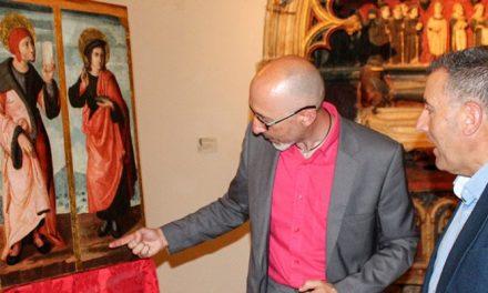 Diputación restaura una tabla de la Catedral de Segorbe