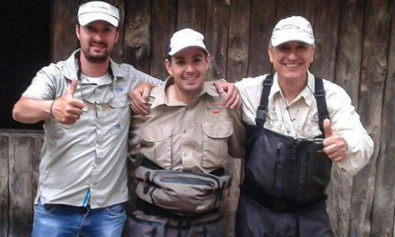 Fernando Lara gana el campeonato autonómico de salmonidos