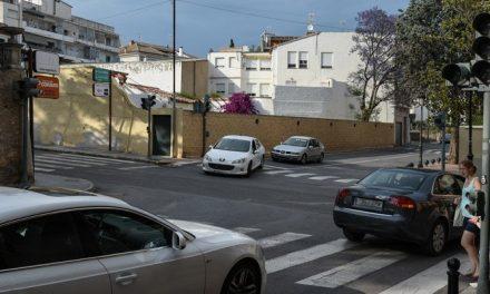 Reparan los semáforos del cruce de la calle Alicante