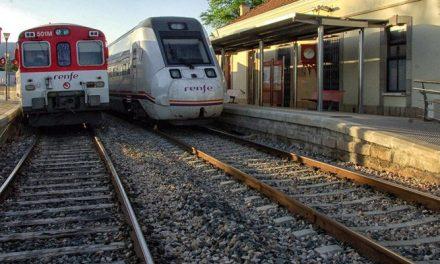 Segorbe recupera el paso de mercancías por la línea férrea