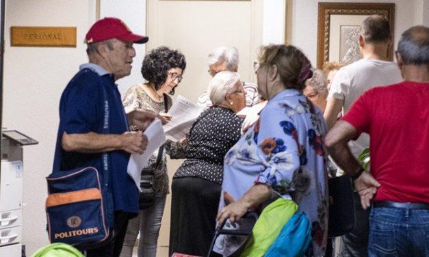 Casi 10.000 jubilados viajaran por la provincia con Castellón Senior