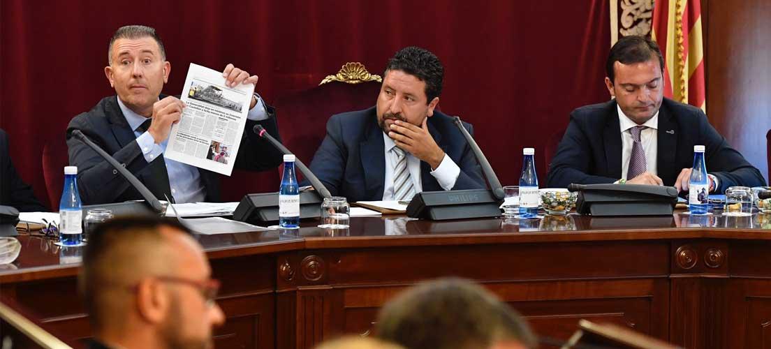 Diputación reclama inversiones que el PSPV tacha de «moción vacuna»