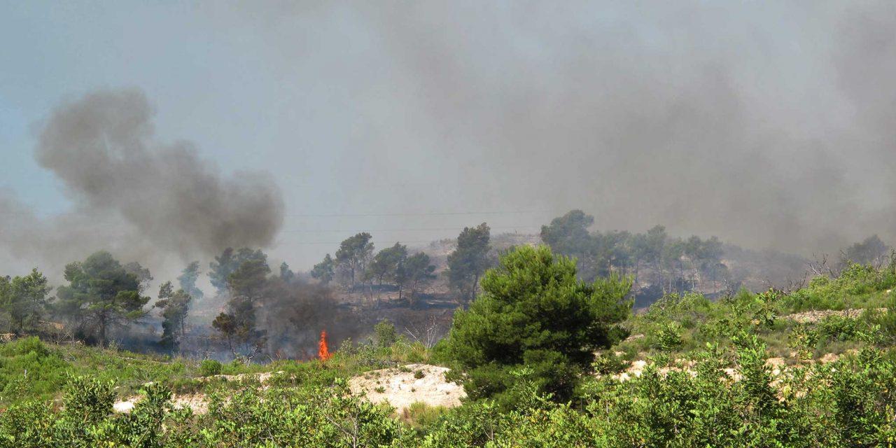 El 80 % de las más de 1000 ha quemadas pertenecen a Segorbe