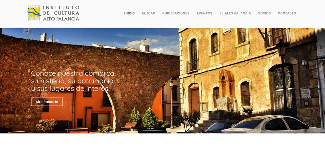 El Instituto de Cultura del Alto Palancia estrena web