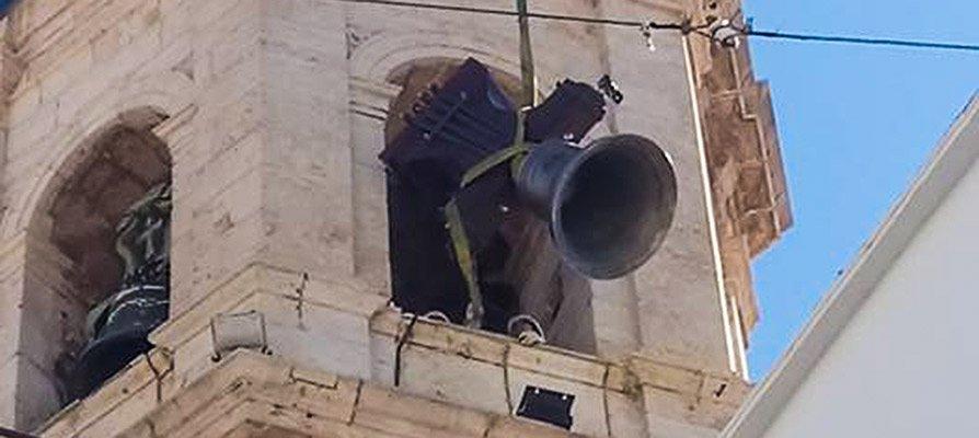 El campanario de Altura estrena dos nuevas campanas