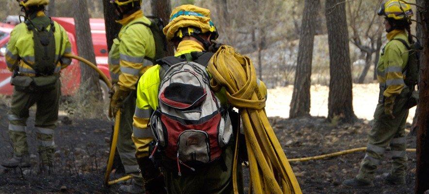 Controlado el incendio de La Calderona
