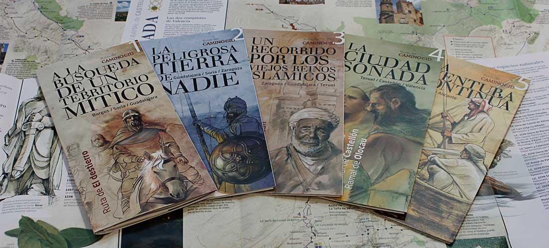 El Consorcio Camino del Cid edita 38.500 folletos