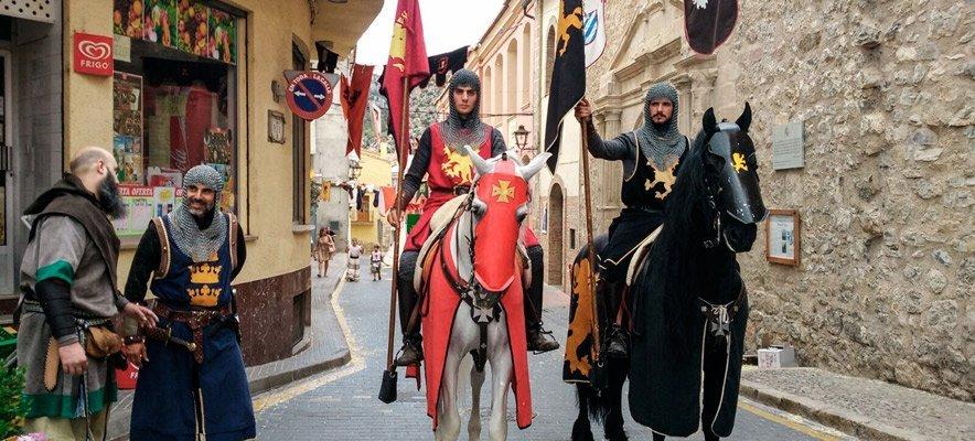 Jérica celebra este fin de semana su Feria y Mercado Medieval