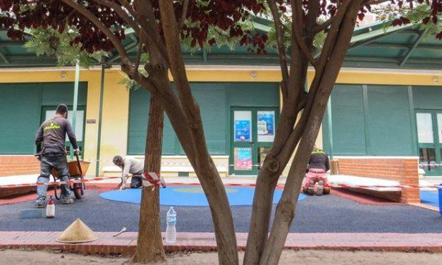 Reformas en el recreo del colegio Pintor Camarón
