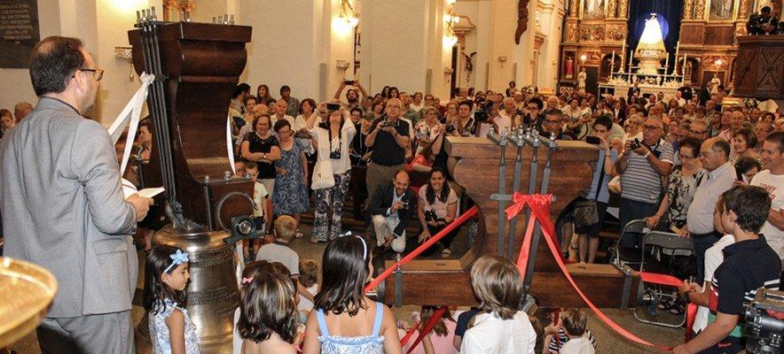 Muñoz Arnau repasa en Altura la historia de la Virgen de Gracia