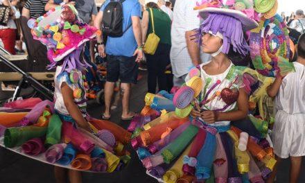 Celebrada la Fiesta Infantil de disfraces suspendida el martes