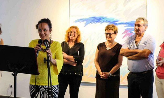 Jérica muestra en una exposición el arte contemporáneo
