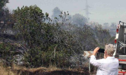 Desencadenado un incendio en Jérica