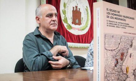 Vicente Gómez llenó aforo en la presentación del XIX Mª de Luna