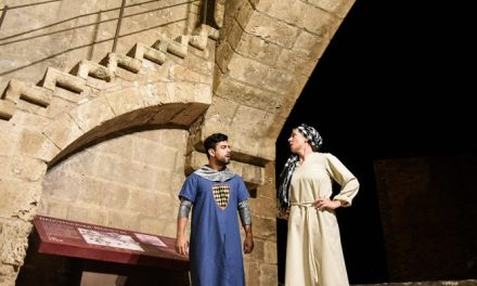Las perseidas acompañan el recuerdo de María de Luna