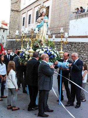 Las fiestas de la Inmaculada sirven de pórtico a las fiestas de La Pastora