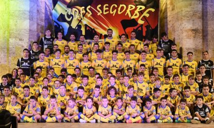 Más de 110 deportistas del CDFS son presentados en el Botánico Pau