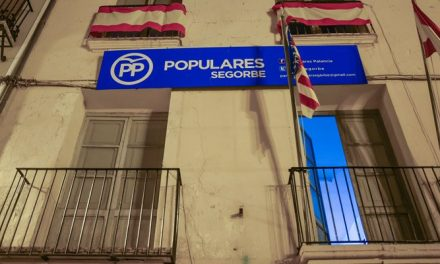 El PP de Segorbe cierra su sede esta semana